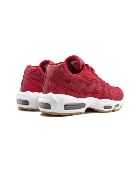 60a6f354947 ... Nike - Red Air Max 95 Prm for Men - Lyst ...