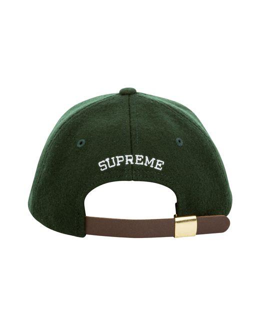 5930bdf3 ... Supreme - Green S Logo 6-panel for Men - Lyst