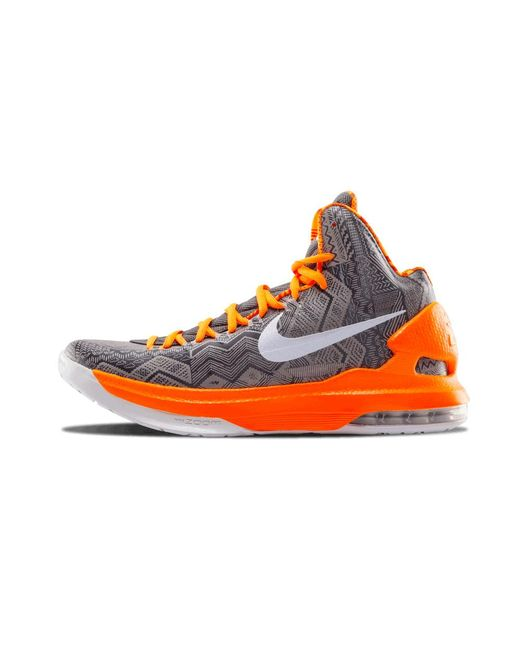 the best attitude 35110 c837e Nike - Orange Kd 5 Bhm for Men - Lyst