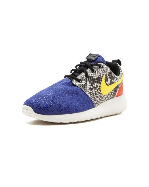 timeless design 91f9e c007c ... Nike - Blue Wmns Roshe One Lx - Lyst ...