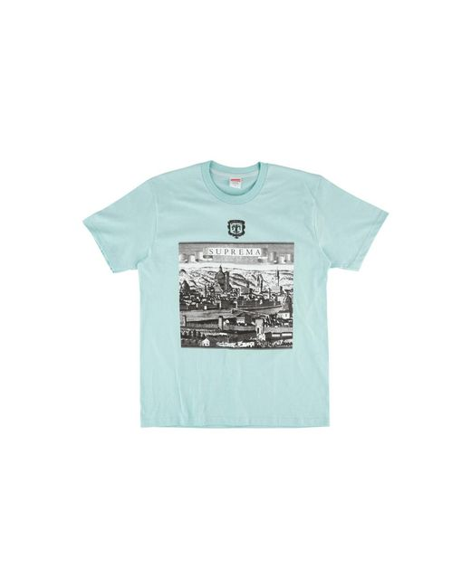 45743a706 Supreme Fiorenza T-shirt 'ss 18' in Blue for Men - Lyst