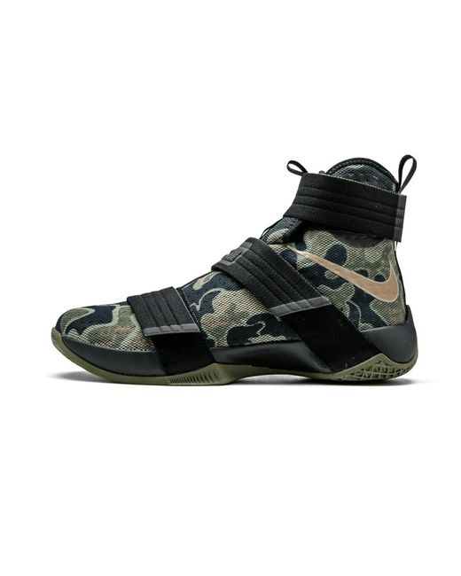 b97ccad9a9e Lyst - Nike Lebron Soldier 10 Sfg in Black for Men
