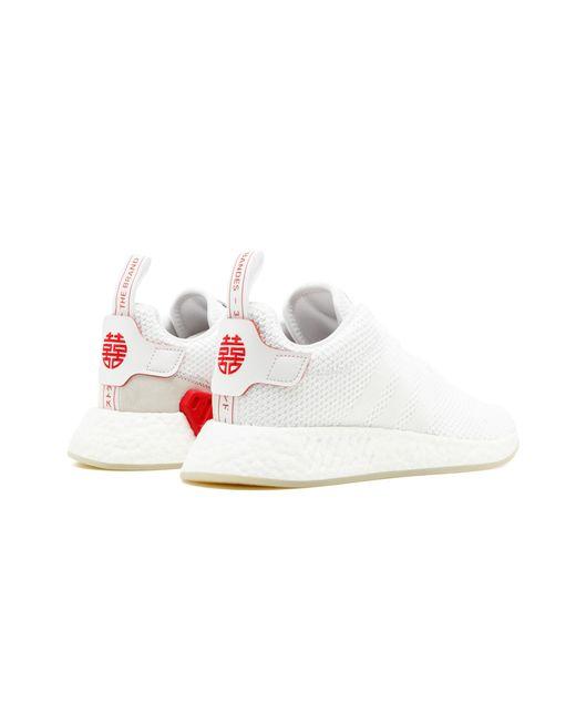 pretty nice 20325 92aad Lyst - adidas Nmd_r2 Cny in White
