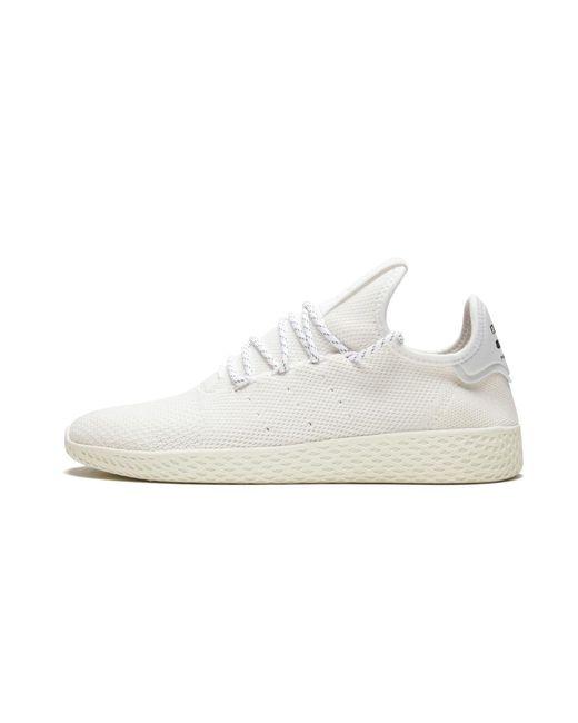 ad009dfd0 Lyst - adidas Pharrell Williams Hu Holi Tennis Hu Bc in White for Men