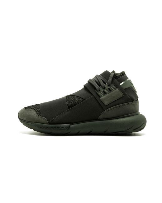best loved 073a3 46505 Adidas - Black Y-3 Qasa High for Men - Lyst ...