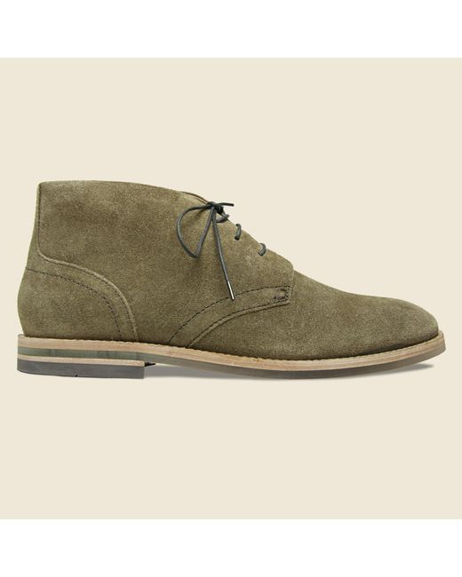 Hudson | Green Houghton Chukka - Tobacco Suede for Men | Lyst