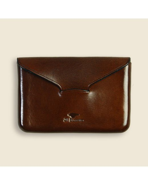 Il Bussetto | Business Card Holder - Dark Brown for Men | Lyst