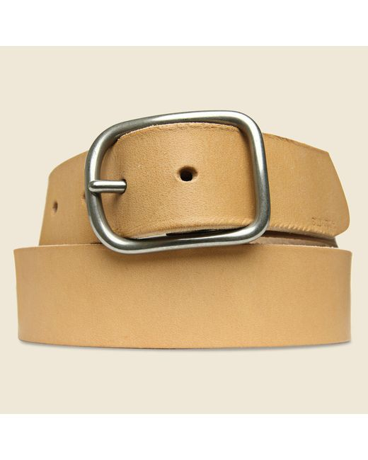 Billykirk   Center Bar Belt - Natural for Men   Lyst