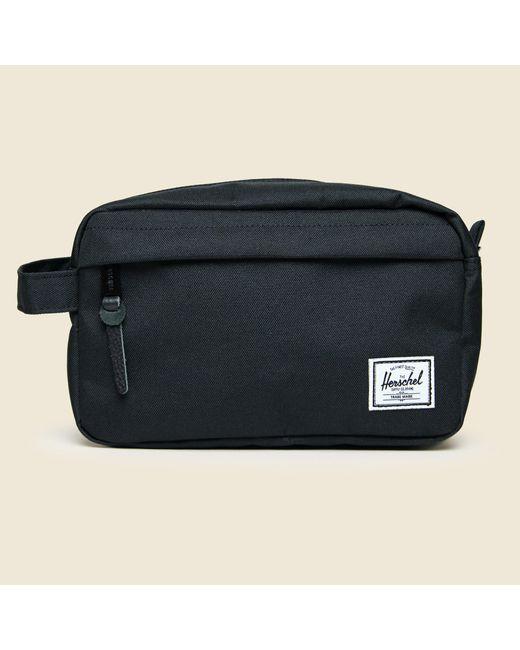59e37972918a Lyst - Herschel Supply Co. Chapter Travel Kit - Black in Black for Men