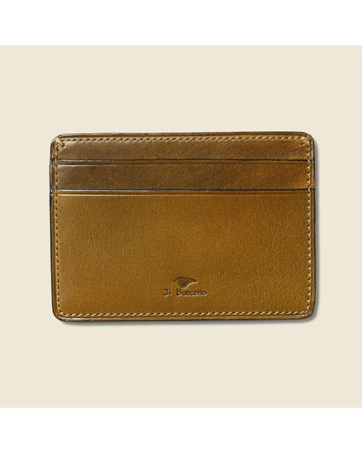 Il Bussetto | Multicolor Credit Card Case - Light Brown for Men | Lyst