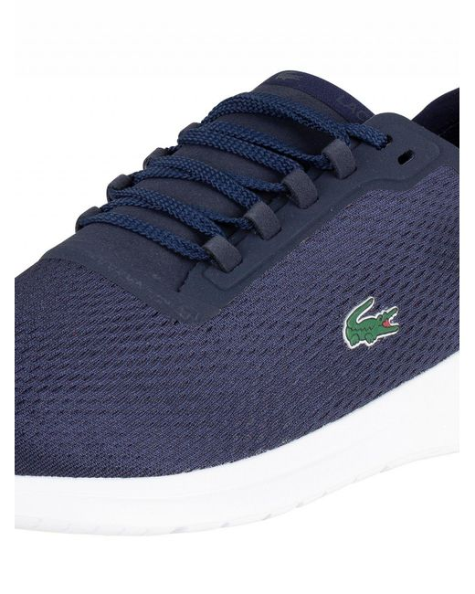 a487dbee380cc6 Lyst - Lacoste Lt Fit 119 1 Sma Trainers in Blue for Men - Save 19%