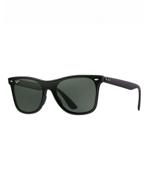 bddd8d9d1449f Ray-Ban Black Rb4440n Blaze Wayfarer Sunglasses in Black for Men - Lyst
