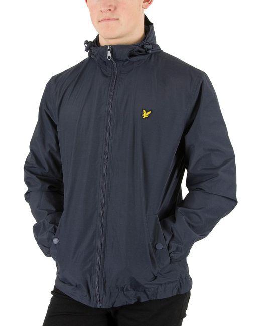 Lyle & Scott - Blue Lyle And Scott Micro Fleece Lined Festival Jacket for Men - Lyst