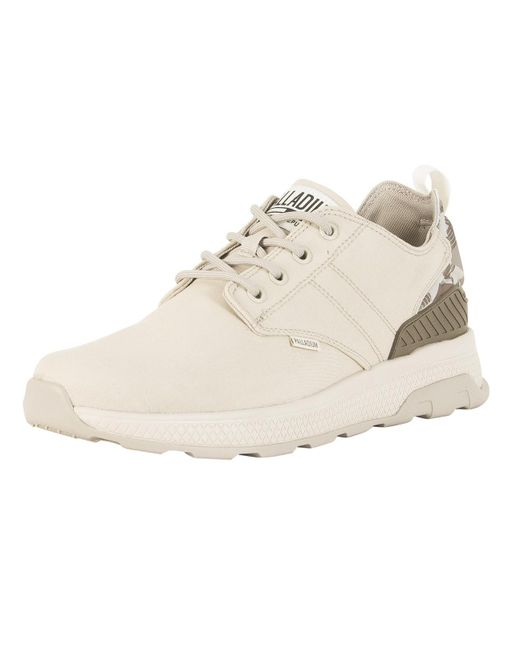 Palladium - Natural Rainy Day/desert Camo Axeon Low Trainers for Men - Lyst