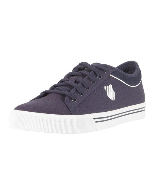 K-swiss - Blue Navy/white Bridgeport Ii Trainers for Men - Lyst