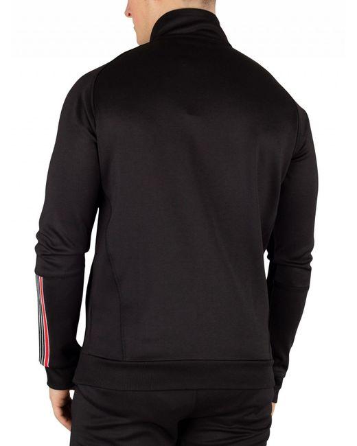 47de6bae53d44 ... Religion - Black/red Crash Track Jacket for Men - Lyst ...