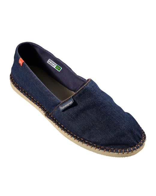 Havaianas - Navy Blue Relax Origine Relax Iii Espadrilles for Men - Lyst