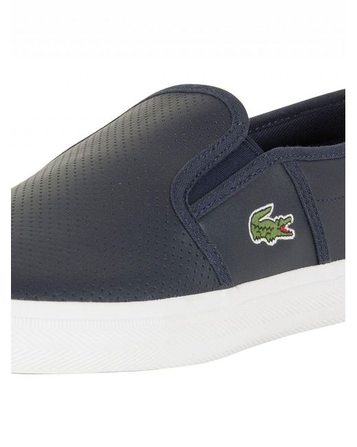 Mens Gazon Bl 1 Cam Trainers Lacoste