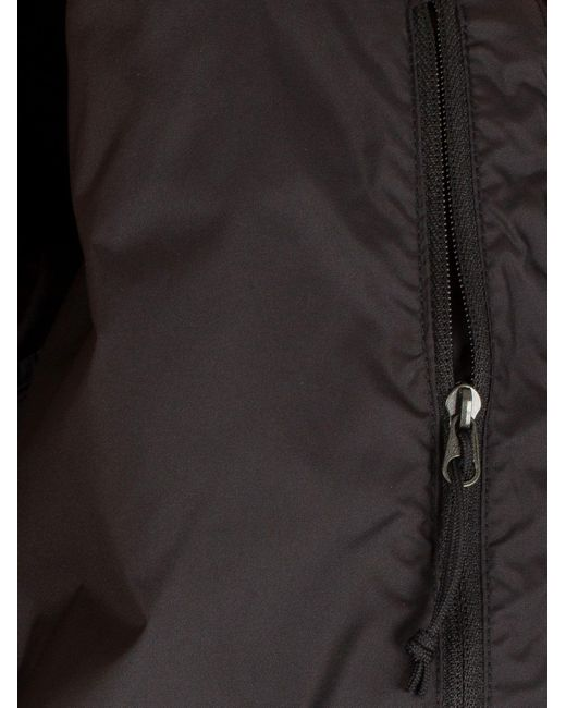 ... The North Face - Black Paz Hooded Logo Puffa Jacket for Men - Lyst ... a5fcb9923