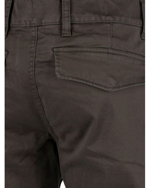 3456c1ec ... G-Star RAW - Multicolor Asfalt Rackam Straight Tapered Cuffed Cargos  for Men - Lyst ...