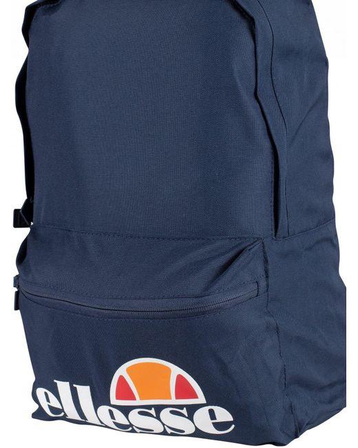 884ef2205d7d Lyst - Ellesse Navy Rolby Backpack   Pencil Case in Blue for Men
