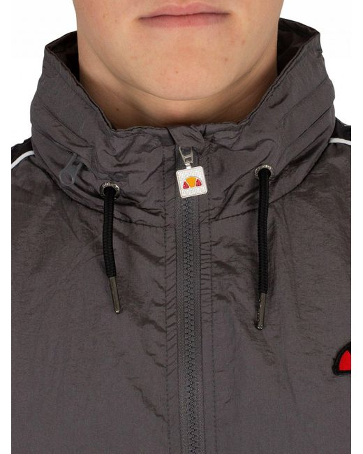 Lyst - Ellesse Grey Lapaccio Track Jacket in Gray for Men - Save 46% 5a312a9dc66