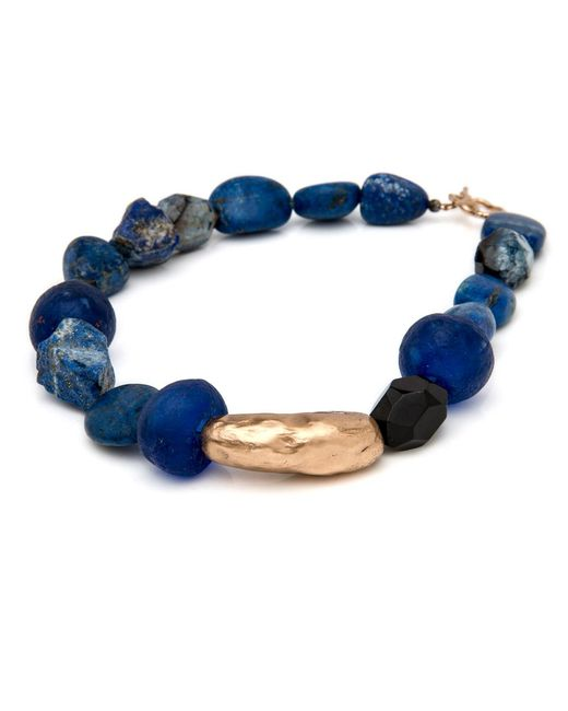 Julie Cohn | Blue Indigo Lapis Necklace | Lyst