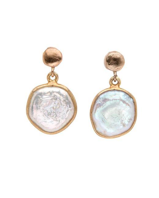 Julie Cohn | Multicolor Pearl Drop Earrings | Lyst