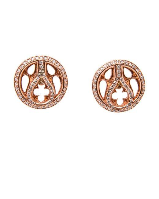 Loree Rodkin   Multicolor Quatrefoil Stud Earrings   Lyst
