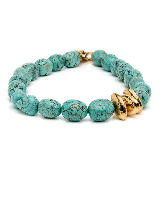 Ashley Pittman | Multicolor Yai Turquoise Necklace | Lyst
