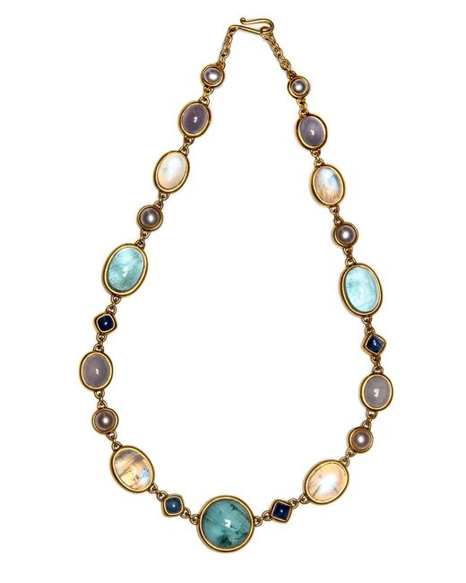 Darlene De Sedle - Multicolor Multi Stone Cabochon Necklace - Lyst