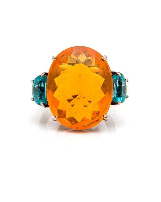 Silvia Furmanovich | Multicolor Fire Opal Ring | Lyst