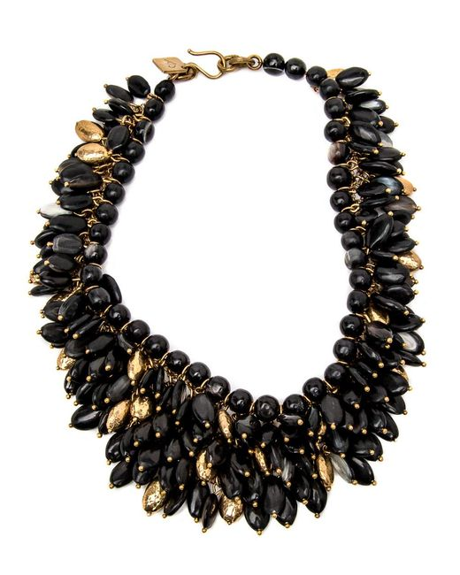 Ashley Pittman - Multicolor Kalamu Dark Horn Necklace - Lyst