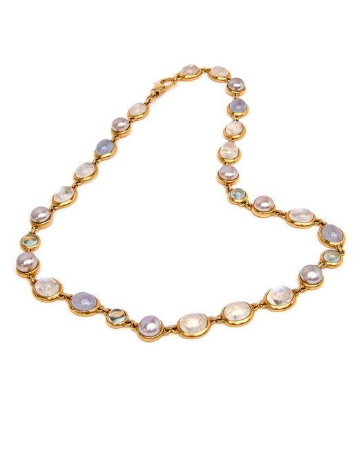 Darlene De Sedle - Multicolor Cabachon Stone Necklace - Lyst
