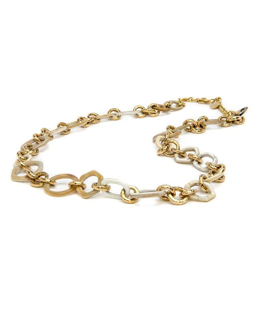 Ashley Pittman - Metallic Shauri Light Horn Necklace - Lyst