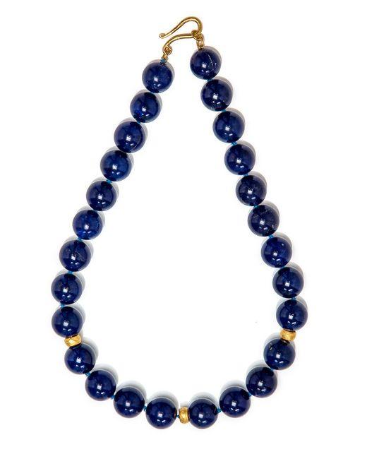 Darlene De Sedle - Blue Lapis Bead Necklace - Lyst