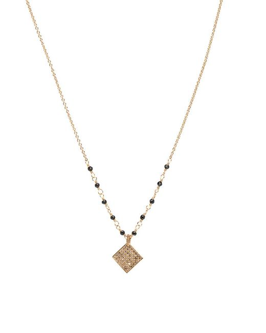 Dana Kellin Fine Jewelry - Black Spinel And Diamond Pendant Drop Necklace - Lyst