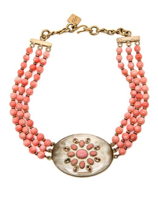 Ashley Pittman - Multicolor Bendi Coral Necklace - Lyst