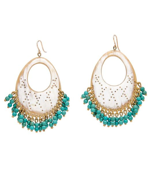 Ashley Pittman | Multicolor Vuku Light Horn Earrings | Lyst