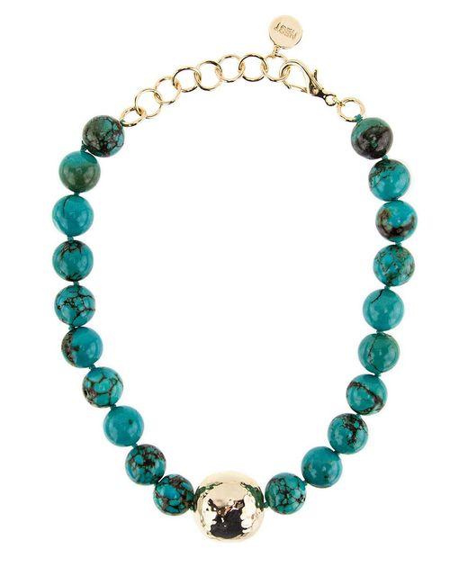 Nest | Blue Jasper Turquoise Statement Necklace | Lyst