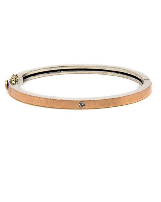 Rene Escobar - Metallic Rose Gold Valery Bracelet - Lyst