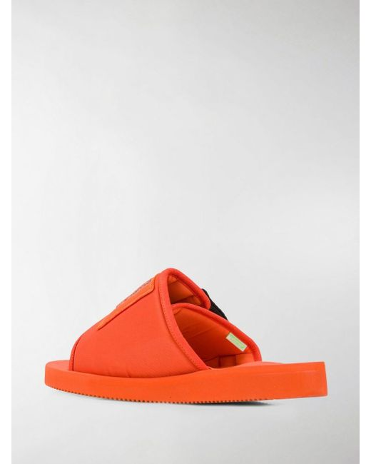 d94e394a9f4a Lyst - Palm Angels X Suicoke Patch Slider in Orange for Men - Save 30%