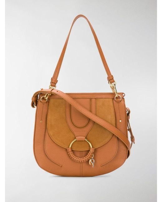 See By Chloé - Brown Hana Shoulder Bag - Lyst
