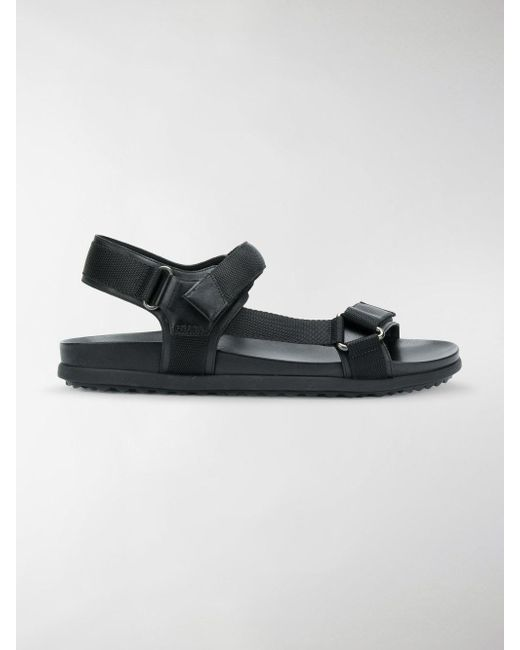 15fb6379236cd3 Lyst - Prada Open-toe Sandals in Black - Save 51%