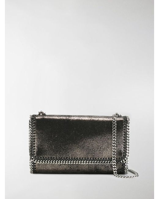 Stella McCartney - Metallic Falabella Cross-body Bag - Lyst