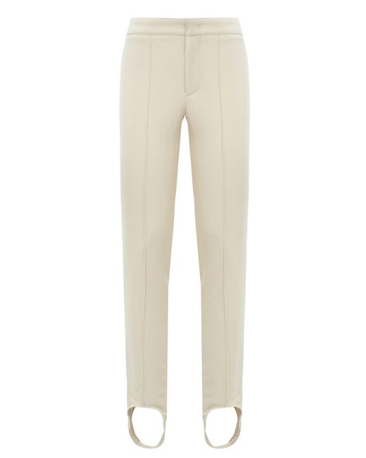 Moncler Grenoble | White Skinny Stirrup Trousers | Lyst