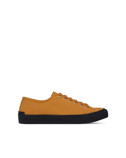 Stella McCartney | Yellow Sunflower Canvas Sneakers for Men | Lyst