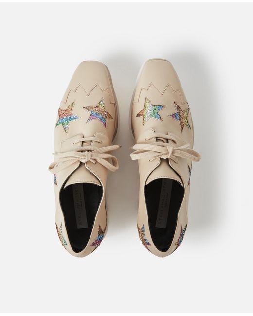 dbb06e9b1bd2 ... Stella McCartney - Natural Elyse Beige Shoes - Lyst ...