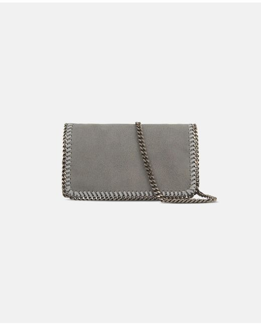 ... Stella McCartney - Gray Light Grey Falabella Cross Body Bag - Lyst ... 706e84d354a85