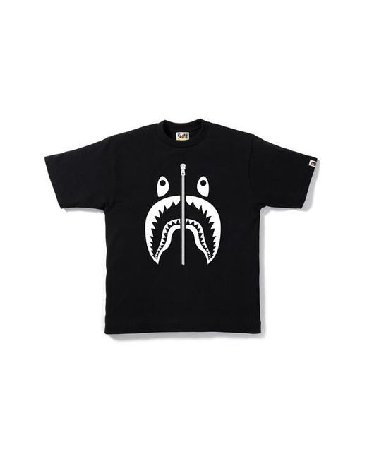 01f559318 A Bathing Ape Hologram Shark Tee Black in Black for Men - Save 16 ...